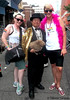 Dr. Takeshi Yamada and Seara (sea rabbit) visited the Gay Pride Parade in Manhattan, New York on June 28, 2015. The US President Barack Obama supports same-sex marriage. gay marriage. 100_8366=3030C by searabbits23