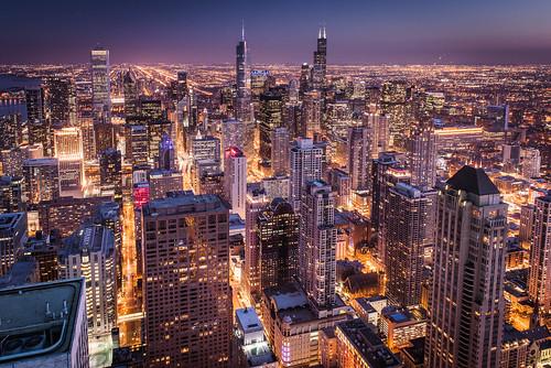 Chicago Skyline Cityscape