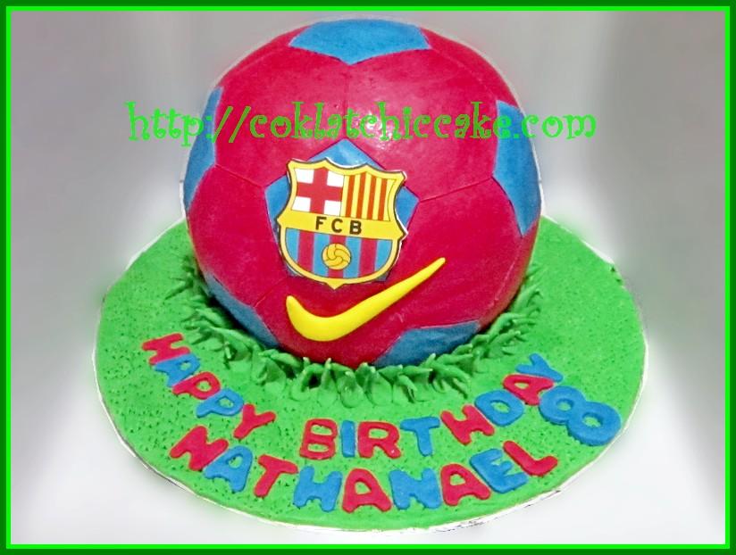 Cake Barcelona Nathanael Coklatchic Cake