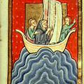 St-Cuthbert-in-a-boat