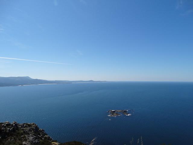 Atlántico desde monte Louro