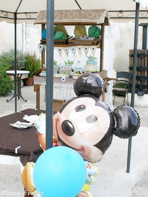 Decoracion de eventos Cumpleaños michey mouse bebe Merbo Events