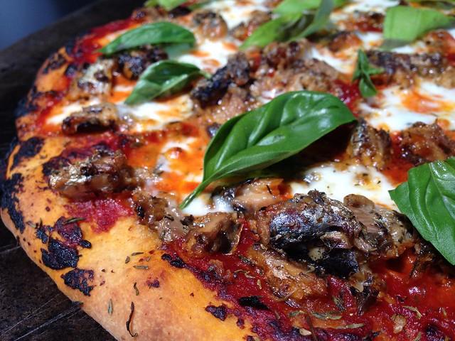 Oil Sardines Pizza