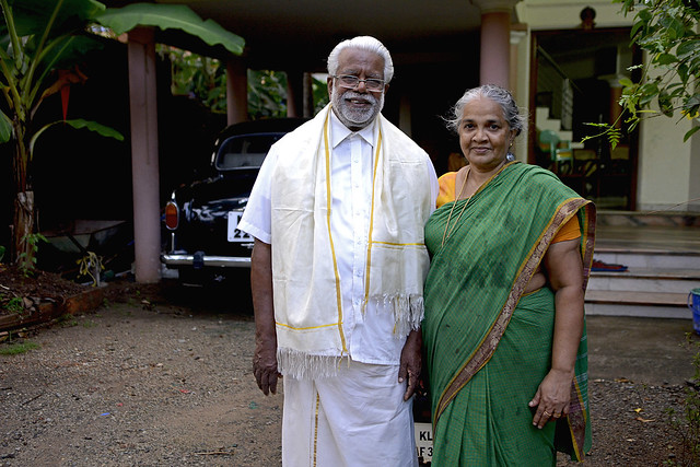 Gopalakrishnan and wife (1)