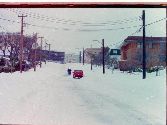 Hillside looking towards Cedar Hill. Photo from Gilian Hillidge
