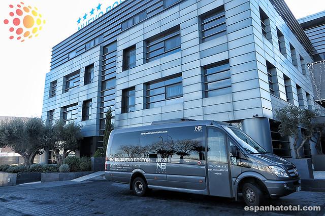 transfer do hotel até o aeroporto de Madri