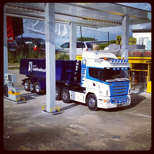 Gasrefuil on my Tamiya Scania Truck #mbg20