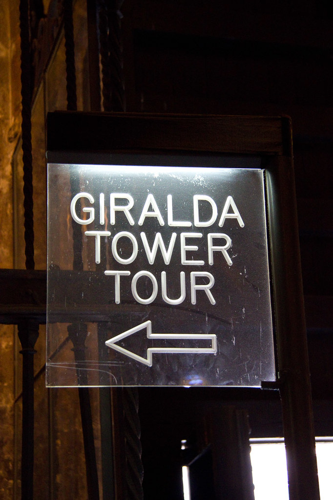 Giralda Tower in Cathedral of Seville