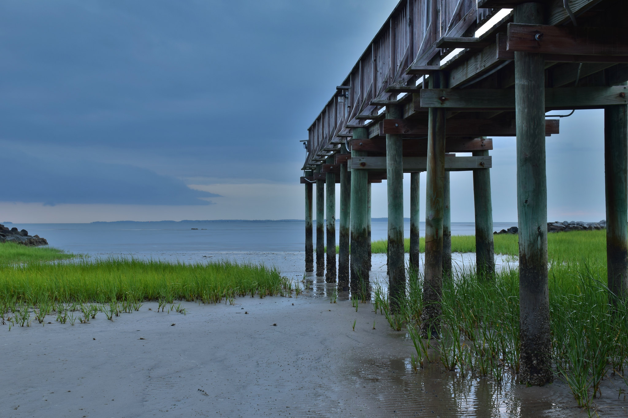 Pier on port royal sound flickr photo sharing for Hilton head fishing pier
