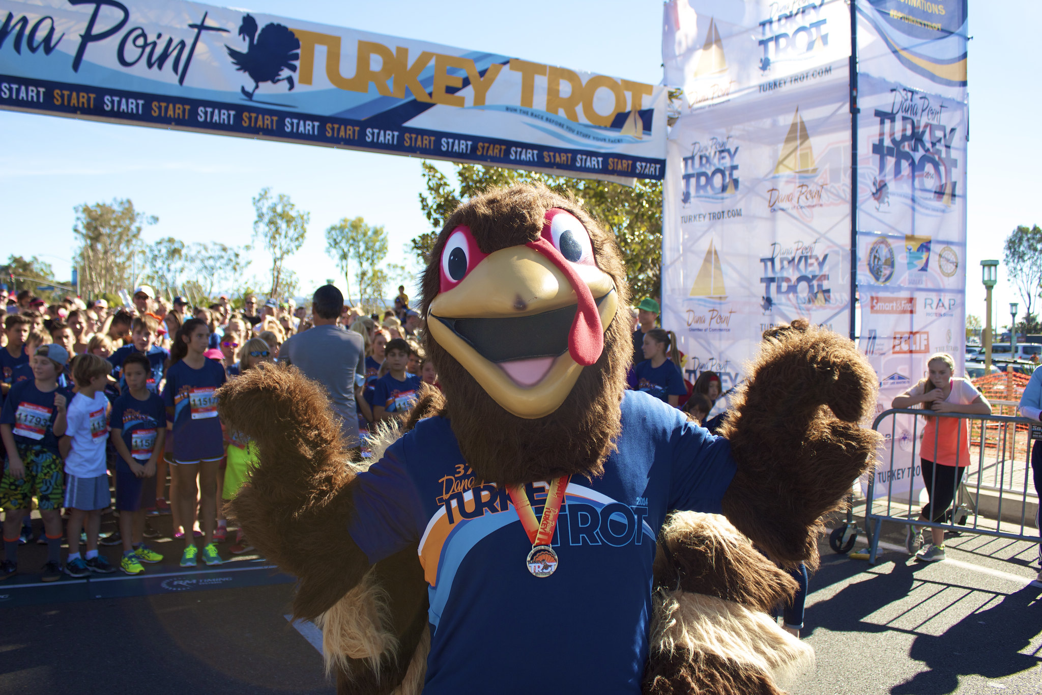 Turkey Trot~ Thanksgiving Day in Dana Point