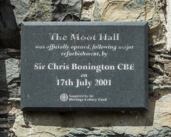 Photo of Slate plaque number 39902