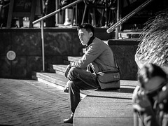 Darling Harbour - quiet portrait one