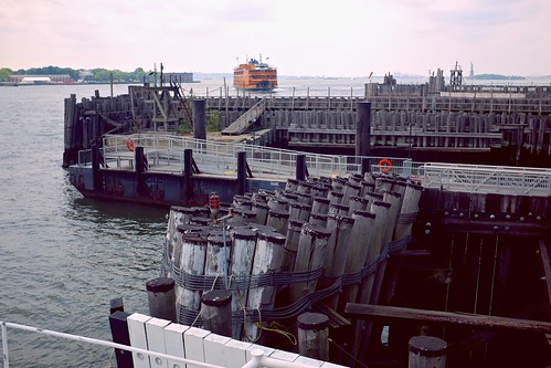 Diane, with Staten Island Ferry