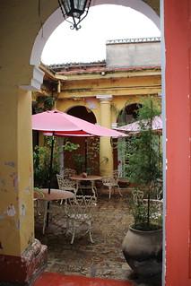 Madre Tierra courtyard