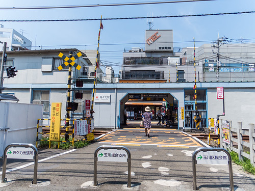 Tokyu Corporation Todoroki Station