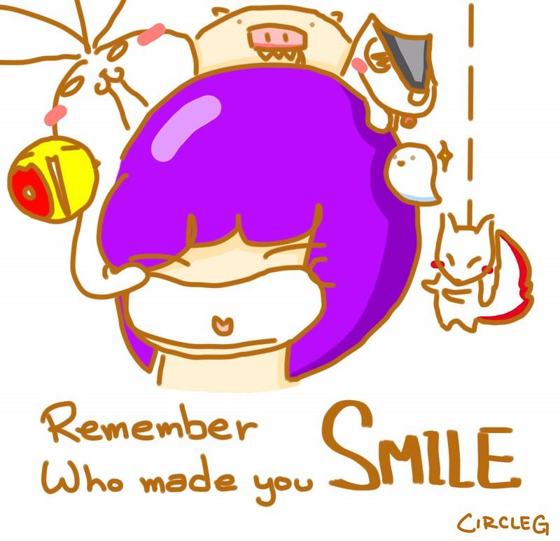 280620155 CircleG 小繪圖 記得邊個真心令你笑 邊個真系放你系心 REMEMBER WHO MADE YOU SMILE 笑
