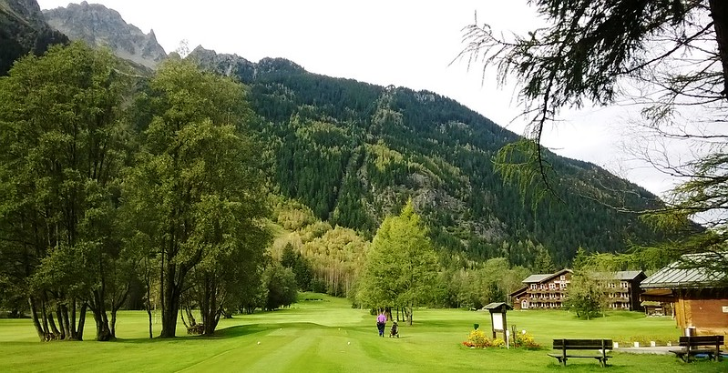les praz golf course france