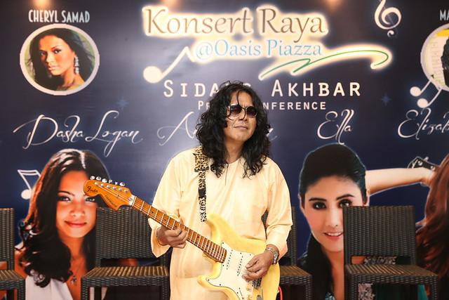 Anuar Zain & Ella Bakal Perform di Konsert Raya Oasis Piazza