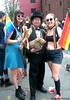 Dr. Takeshi Yamada and Seara (sea rabbit) visited the Gay Pride Parade in Manhattan, New York on June 28, 2015. The US President Barack Obama supports same-sex marriage. gay marriage. 100_8385=3030 by searabbits23