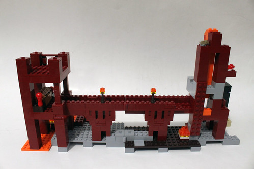 LEGO Minecraft The Nether Fortress (21122) Review | The Brick Fan