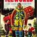 """""""Iceworld"""" by Hal Clement. NY: Gnome Press, (1953). First edition. Jacket design by Ric Binkley"""