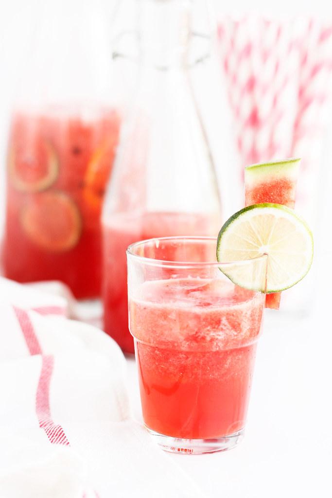 Watermelon-Citrus Cooler/Juice Recipe   Simple and Quick Summer Cooler ...