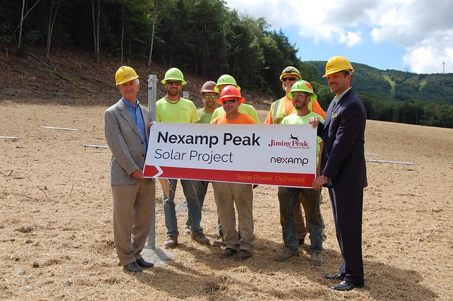 Jiminy Peak solar project launch