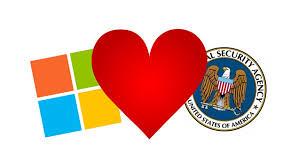 Windows 10 следит за пользователями для АНБ