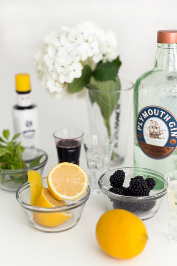 Ingredients for Briar Patch Cocktail Recipe