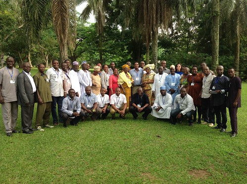 Group photo of the ACGG launch event in Nigeria (photo credit: ILRI / T. Dessie)