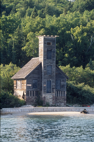 The Grand Island East Channel Lighthouse