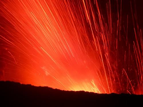 Explosion at Mt Yasur - Tanna Island