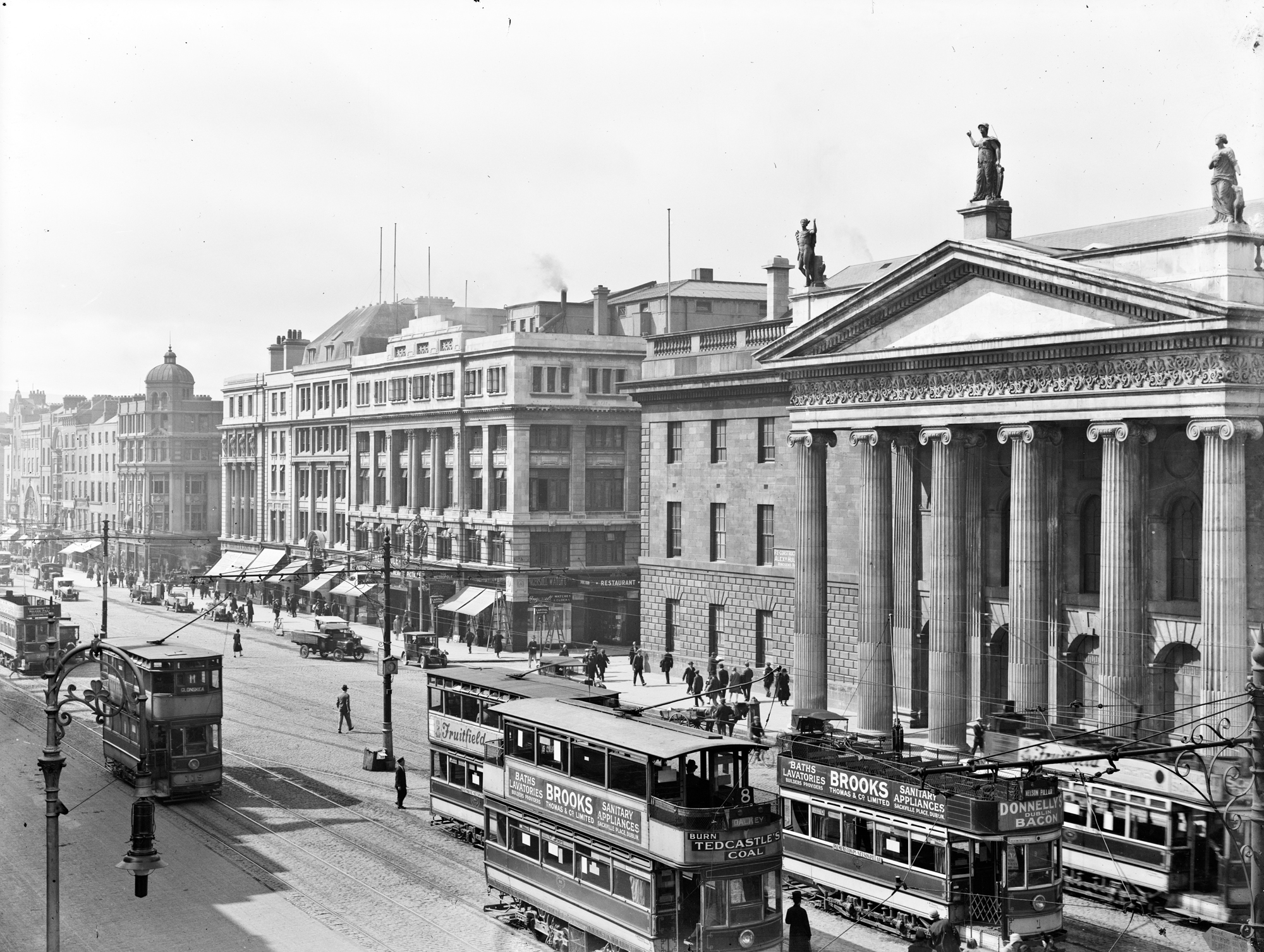 General Post Office, O'Connell Street, Dublin City, Co. Dublin