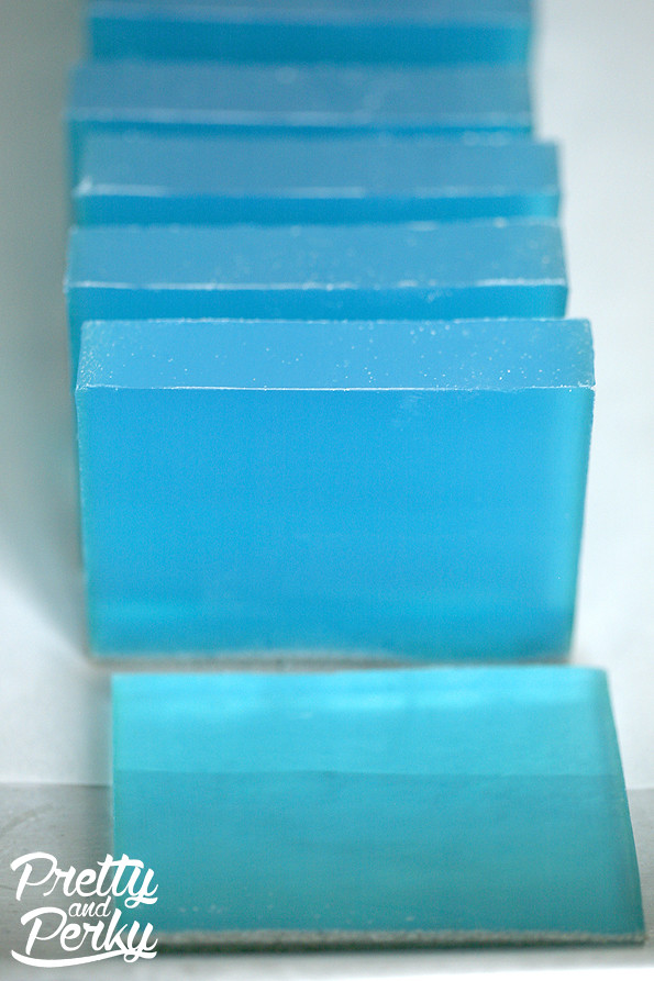 Pretty and Perky Blue Lagoon Aloe Soap