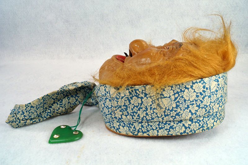 RD10680 Vintage Laffun Head Bibi Products Peter Figuren Old Woman DSC08340