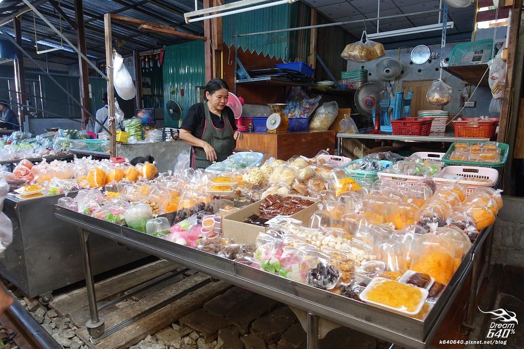 泰國曼谷-水上市場+美功鐵道市集+河濱夜市-24