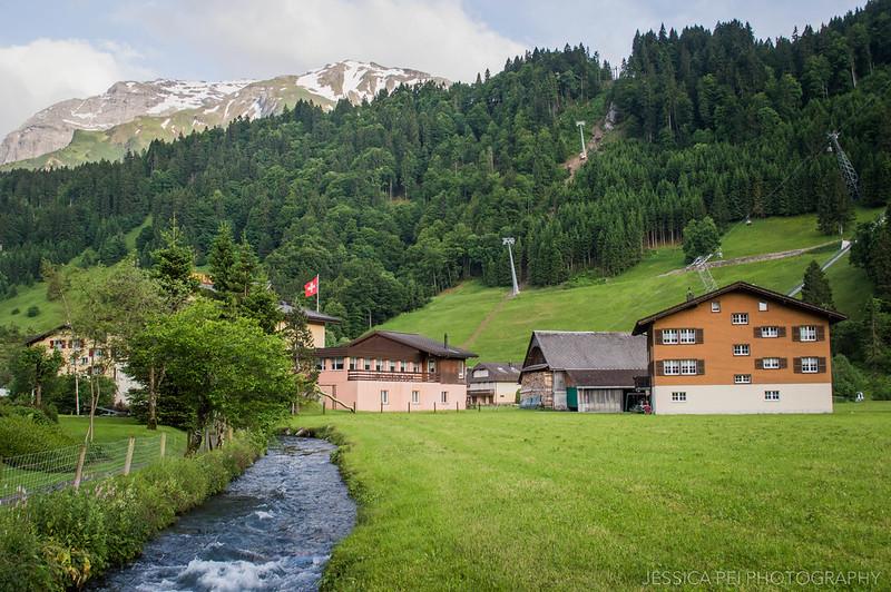 Engelberg Switzerland Mountains House