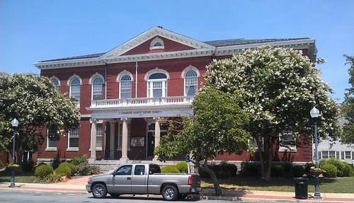 maryland courthouse courthouses somersetcounty princessanne countycourthouse us13 usccmdsomerset