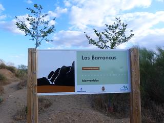 Cartel de Las Barrancas de Burujón (Toledo)