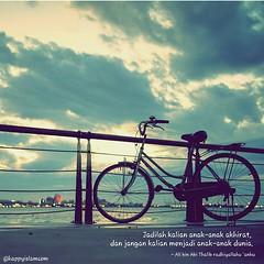 Image of: Islam dakwah sunnah quote islamquote quotesalaf sepeda islam remaja pemuda sunset salaf cinta love salaf Flickr Anak Akhirat dakwah sunnah quote islamquote quotesu2026 Flickr
