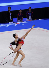 floor gymnastics(0.0), winter sport(0.0), ice skating(0.0), individual sports(1.0), sports(1.0), performing arts(1.0), gymnastics(1.0), gymnast(1.0), entertainment(1.0), rhythmic gymnastics(1.0),