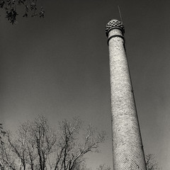 old chimney (Hasselblad 503, Ilford delta pro 400)