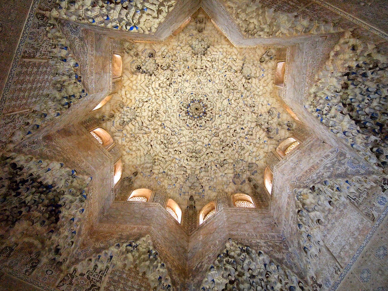 Hall of the Abencerrajes in the Alhambra