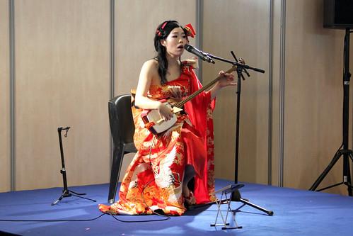 Singer at Japan Expo