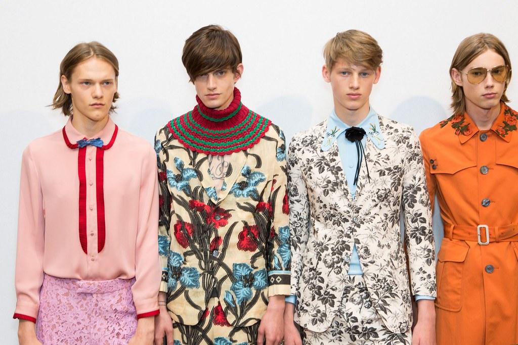 Ryan Keating3089_SS16 Milan Gucci_Gabriel Hengeveld, Ole Stirnberg, Anton Toftgard(fashionising.com)