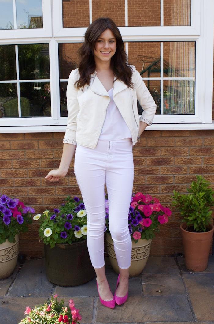 rachael white jeans 1