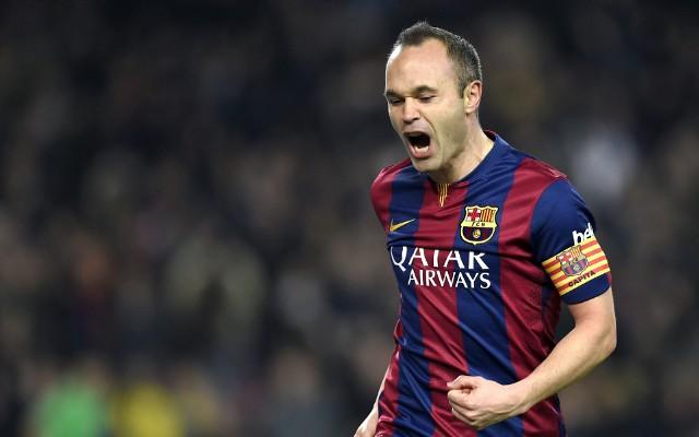 """Iniesta comemora invencibilidade do Barcelona de 37 jogos: """"Barbaridade"""""""