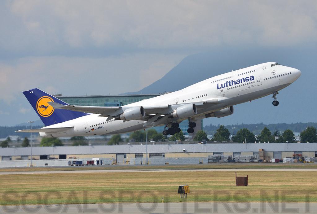 D-ABVX - B744 - Lufthansa