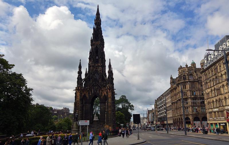 Scotland 2015 - Scott Monument