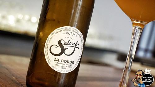 Cerveza Salvaje, La gorda
